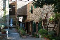 Typisches Haus in Suvereto